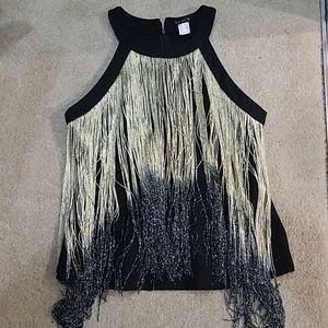 Fringe blouse